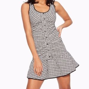 Parker  Yael Scoop Neck Ruched Mini dress